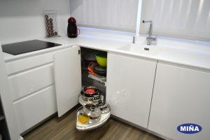 Cocinas con espacio de almacenaje